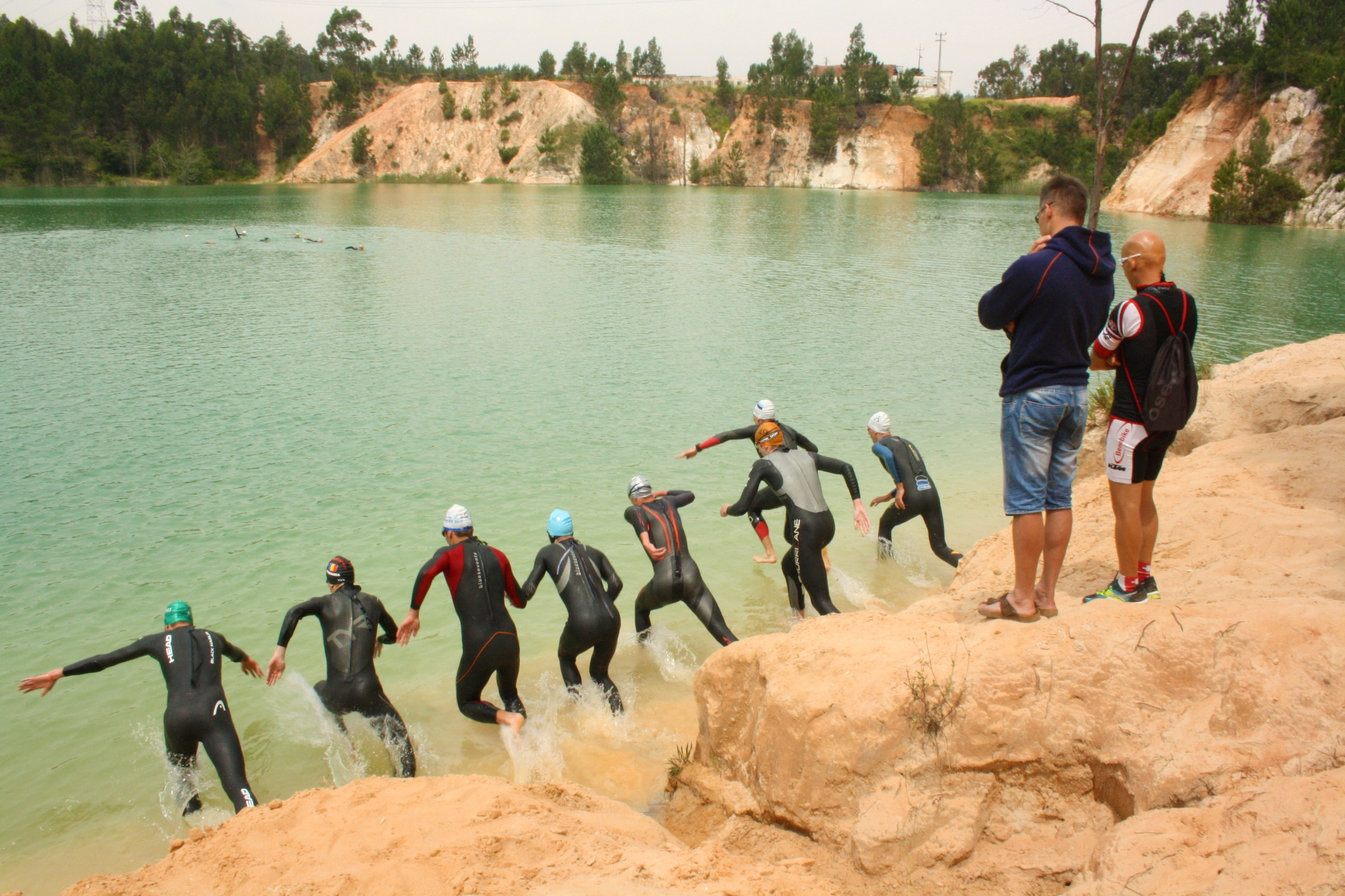 Open water in Rio Maior