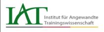 Logo Institut für Angewandte Trainingswissenschaft (IAT)